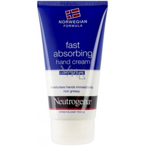 Neutrogena Norwegian Fast Absorbing light, non-greasy hand cream 75 ml