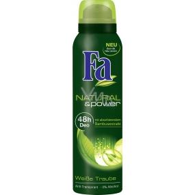 Fa Natural & Care White grape antiperspitant deodorant spray for women 150 ml