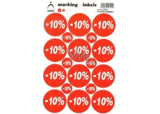 Arch Discount Labels -10%