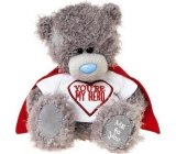 Me to You Teddy Bear in T-shirt with You Are My Hero 14,5 cm