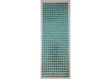 Albi Samolepící kamínky světle modré 5 mm 462 kusů